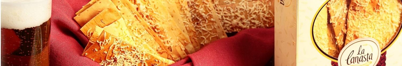 Empanadas, pasteles, quiches, croissants, pizzas, crocantinis